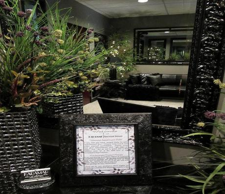 Welcome to Karamar Specialized Skincare - inner private client waiting area